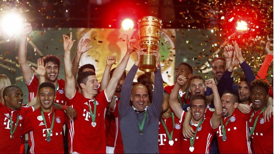 Pep Guardiola se despide del Bayern ganando la Copa de Alemania