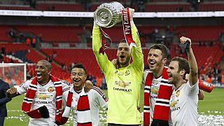 Manchester United a remporté la cup devant Crystal Palace