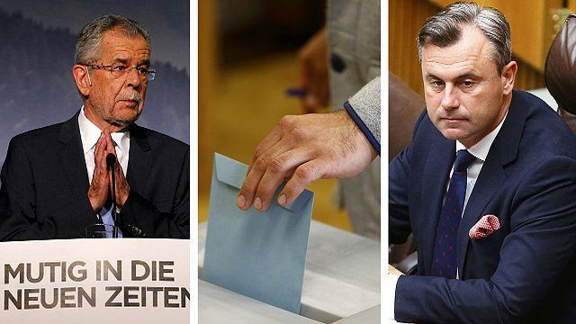 """Австрия: выбор между правым и """"зеленым"""""""