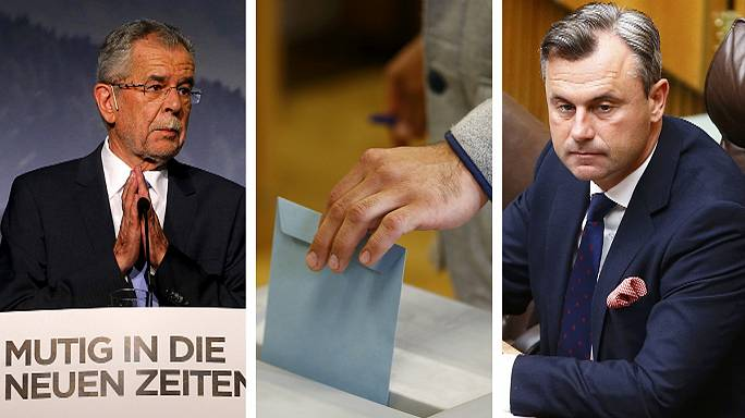 Far-right Hofer set for victory in tight Austrian election