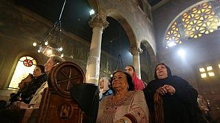 Families hold memorial service for EgyptAir crash victims
