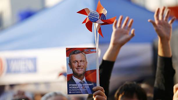 Austria poised to elect far-right president