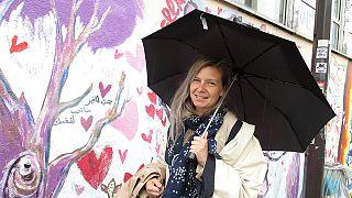 Du street art comme thérapie à Paris, six mois après les attentats