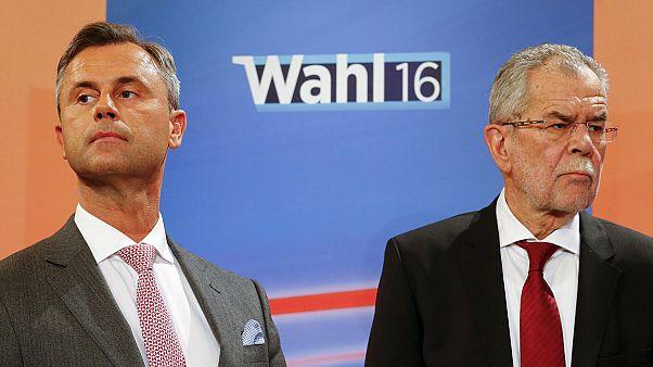 Fej fej mellett az elnökjelöltek Ausztriában