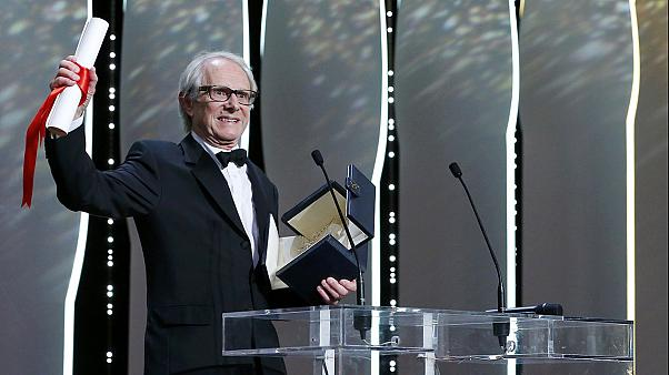 """El británico Ken Loach gana su segunda Palma de Oro de Cannes por """"Yo, Daniel Blake"""""""