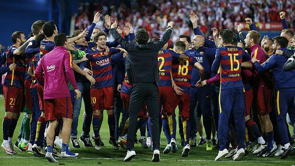 A Barcelona nyerte a spanyol Király-kupát