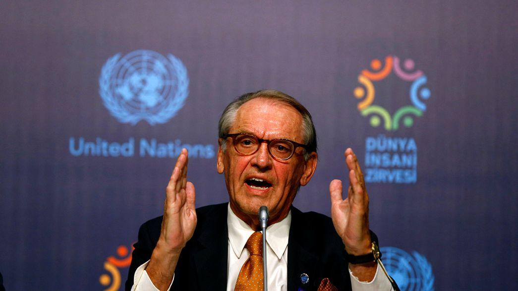 Первый гуманитарный саммит ООН открылся в Турции
