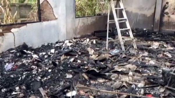 تايلاند: مصرع 17 تلميذة في الصف الإبتدائي في حريق بسكن طلابي