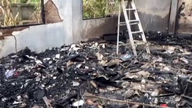 Young schoolgirls killed in Thai school dormitory blaze