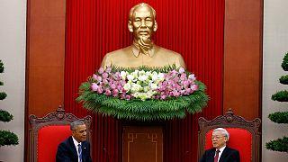 US-Präsident Obama in Vietnam: Waffenembargo nach 50 Jahren endgültig aufgehoben