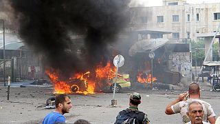 El Dáesh reivindica la cadena de atentados en Siria con al menos 121 muertos