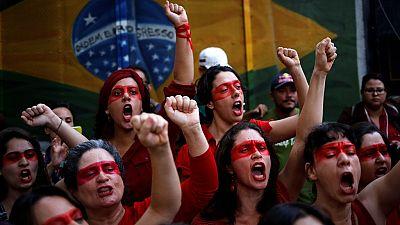 Brazilians protest austerity plans of interim president