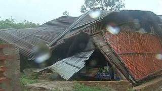 Deadly cyclone in Bangladesh