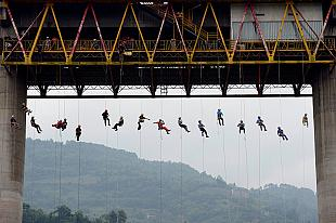 Rescue training in China