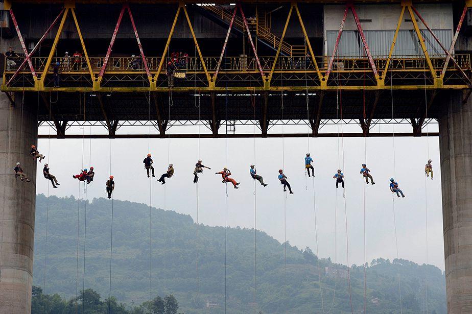 Entraînement extrême en Chine
