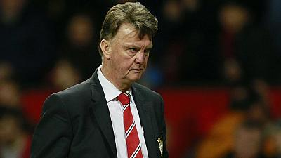 Football : Manchester United limoge Louis Van Gaal