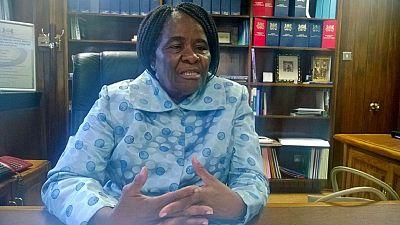UA : Dr Pelonomi Venson Moitoi, future candidate (Botswana)
