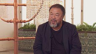 """Artist Ai WeiWei decries Europe's """"shameful"""" refugee crisis"""