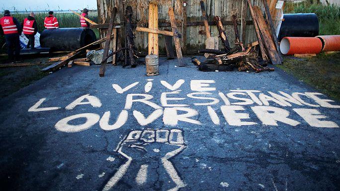 Francia munkajogi reform: újabb ágazat tüntet