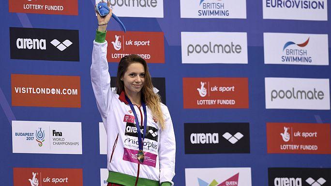 European Aquatics Championships: Boglarka wins fourth gold as Hungary top medal table
