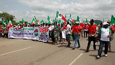 Nigeria Labour Congress suspends nationwide strike