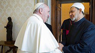 Le pape François et le grand imam d'Al-Azhar, pour le renforcement des relations entre les religions