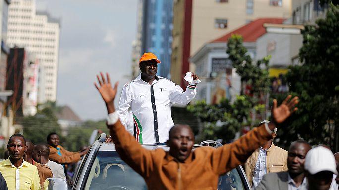 Kenya'daki eylemlerde kan aktı