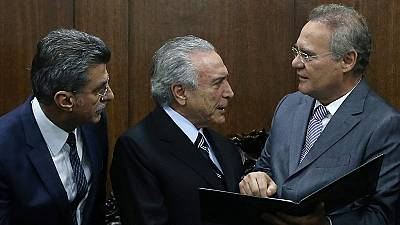 Brazil's interim govt loses key minister to scandal