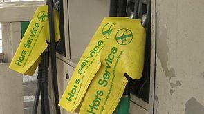 Penúria de combustível nas bombas de gasolina em França