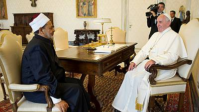 Ecumenical meeting at the Vatican – nocomment