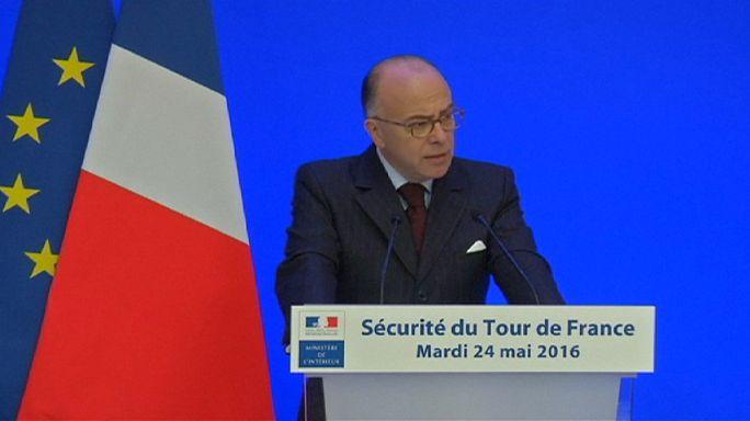 """مشاركة قوات النخبة الفرنسية في تأمين سباق """"تور دو فرانس"""""""