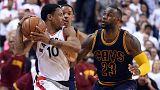 NBA : Toronto revient à hauteur de Cleveland