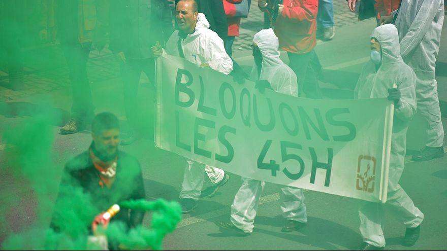Bruxelles, scontri alla manifestazioni anti austerità