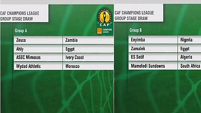 Egyptian rivals lead CAF Champions League draw