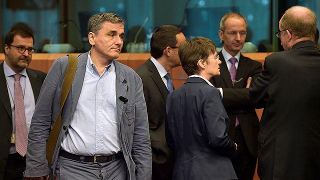 Еврозона и долг Греции. Споры с МВФ. Марш в Брюсселе