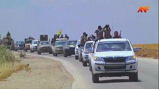 IŞİD'in kalesi Rakka kuşatıldı