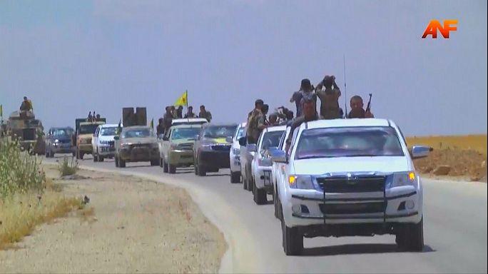 قوات سوريا الديموقراطية تسيطر على الريف الشمالي للرقة