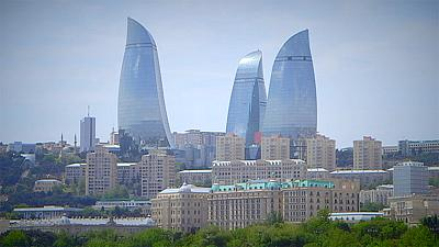 Postcards from Azerbaijan: The Baku Flame Towers