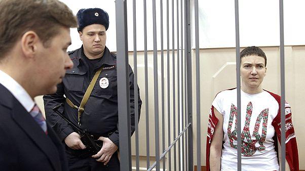اوکراین؛ عفو دو زندانی روس به قصد مبادله با نادیا ساوچنکو