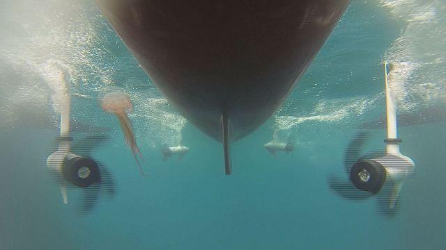 جهاز إستشعار لكشف تلوث مياه البحر