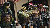 Ninja kaplumbağalar yine iş başında