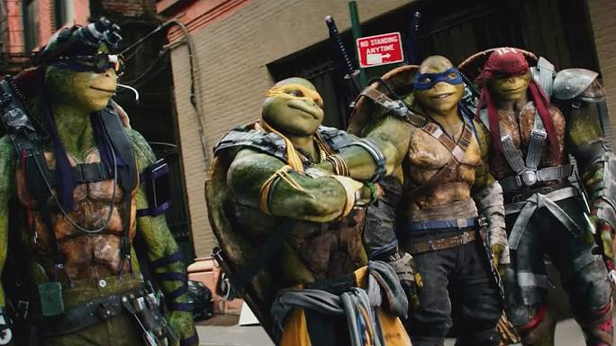 Las Tortugas Ninja vuelven a salir de las sombras