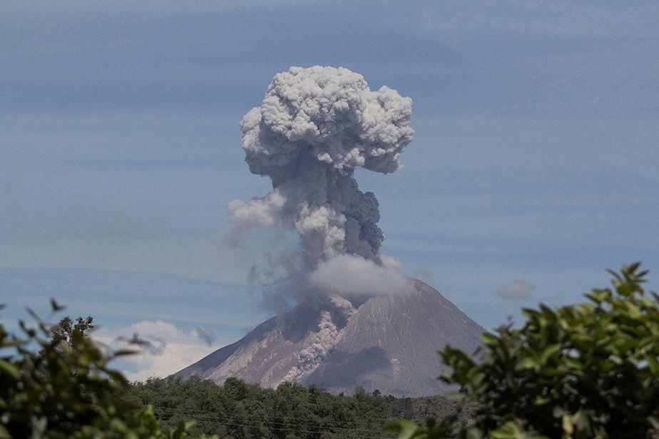 Eruption mortelle en Indonésie