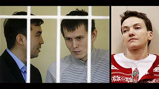 Ucrânia troca dois presos russos por piloto Nadiya Savchenko