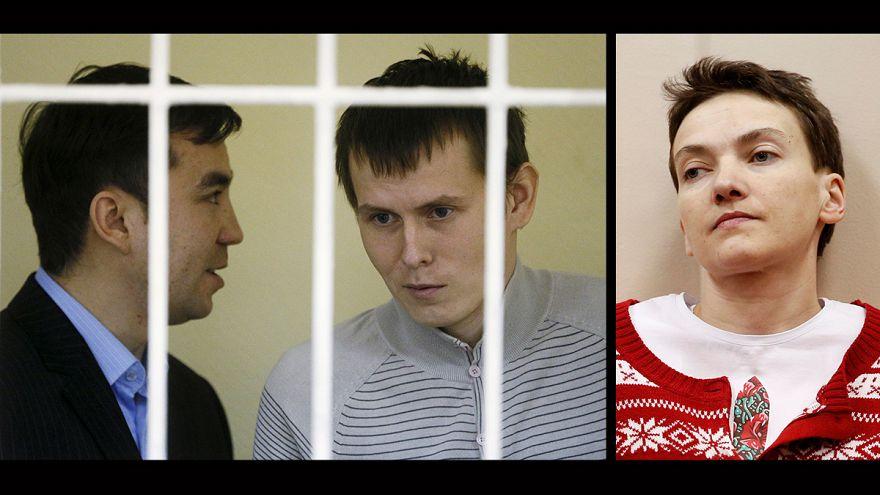 Украинку Савченко обменяли на россиян Александрова и Ерофеева