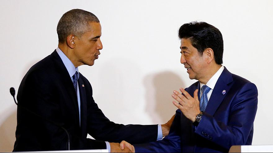 G7-Gipfel und Hiroshima: Obama landet in Japan