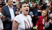 """Scambio di prigionieri con Mosca: Nadia Savchenko a Kiev, """"pronta a combattere"""""""