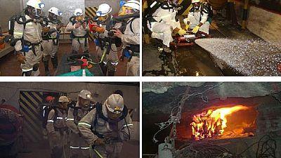 Afrique du Sud : sauveteur en mine, une profession convoitée