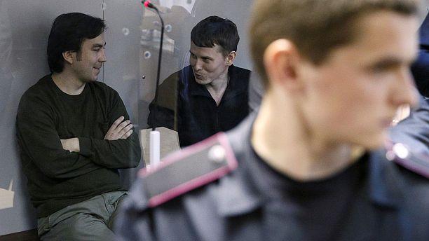 Freigelassene russische Soldaten zurück in Moskau