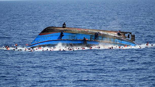 Overcrowded fishing boat capsizes off Italian coast, 500 migrants rescued